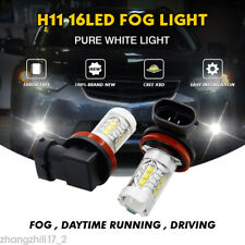 H11 80W LED Bulb For Ford Falcon FG xr6 xr8 Focus RS Driving Fog Lights 1000LM