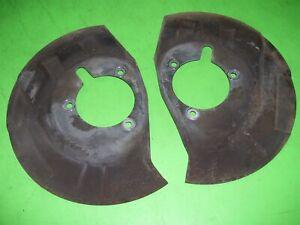94-99 Dodge Ram 2500 2wd Front brakes dust shields backing plates splash