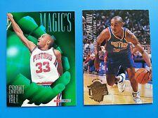 Grant Hill  239 RC Fleer Ultra & AR3 Magic' 1994-95 Pistons 2 card Lot