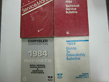 1984 Dodge Ram Van B150 B250 B350 Service Repair Shop Manual SET OEM BOOKS USED