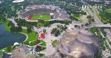 Panorama Luftbild Olympiastadion München Bayern +RAR+