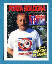 """BOLOGNA 96-97 -Ediland- Figurina-Sticker n. 41 - RIVISTA """"FORZA BOLOGNA"""" -New"""