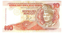 Offer>Jaffar Hussien  rm10 Thomas banknote Prefix UV7222211 nice no !AU
