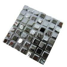 Modern Mosaic Square Cupboard Cabinet Drawer Door Pull Knob Handle Bright Chrome