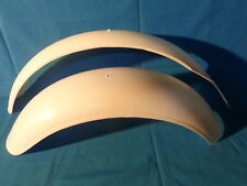 BULTACO ALPINA, SHERPA ,WHITE PLASTIC FENDER KIT FOR MOTORCYCLES OF TRIAL