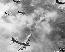"""US Air Force Flying Fortresses Germany Aug 1943 World War 2 Reprint Photo 5x4"""""""