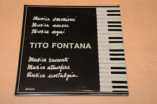 TITO FONTANA LP TOP ITALIAN MODERN JAZZ NM ! UNPLAYED !!!!!!! MAI SUONATO