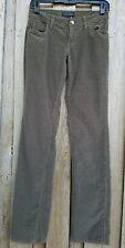 BANANA REPUBLIC CORDUROY Jeans Pants  Hunter Dark Green Size 0