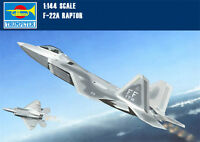 Trumpeter 01317 1/144 Scale USA F-22A Raptor Fighter Aircraft Assembly Model Kit