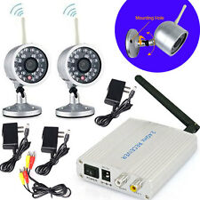 2.4G Wireless Home Security CCTV System+2 Waterproof Night Vision Outdoor Camera