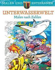 Malen und entspannen: Unterwasserwelt von George Toufexis, Buch