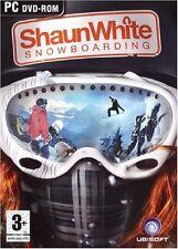 SHAUN WHITE SNOWBOARDING           -----   pour PC