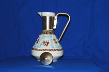 MID-CENTURY WATER CARAFE/COFFEE POT  SIGNED C. MILLER 1957