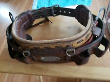 Leather Klein Tools Linesman Tool Belt 5249N20 Size 34-42 Tree Pole Climber
