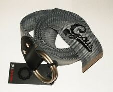 GSUS MEN'S 100% PAN WOVEN BELT KNITGHT GREY ONE SIZE