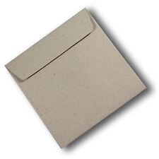 10 Botany Enviro 160mm Square Envelopes 100% ReCycled Brown 115gsm #S5176 #C1