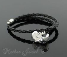 Without Stone Sterling Silver Bracelets for Men