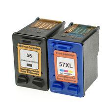 Set Tintenpatronen für HP 56 + 57 c6656a c6657a