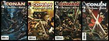 Conan and the Demons of Khitai Comic Set 1-2-3-4 Lot Nude 24 ad King Conan story