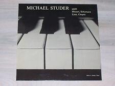 Michael STUDER spielt Mozart, Schumann, Liszt, Chopin  / LUNA - LP, No. 30-241 !