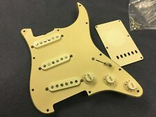 Fender 62 AVRI Stratocaster Loaded Pickguard Assembly Hot Pickups
