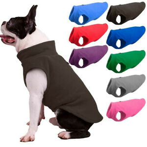 Pet Fleece Harness Vest Jacket Jumper Sweater Coat for Small Medium Large Dog