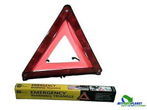 2 x AA Car Essentials Emergency Reflective Warning Hazard Triangle