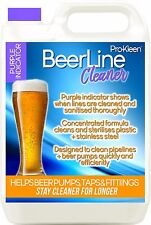 More details for 5l purple beer line cleaner sanitise pipe pump wash cleaning bar lines pipework