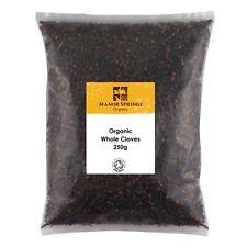 Manor Springs Organic Whole Cloves 250 g