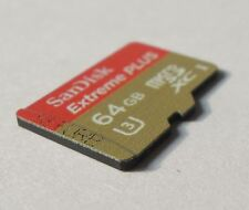 SanDisk 64GB Extreme Plus Micro SD SDXC U3 Class 10 UHS-I Card SDSDQXL-064G R