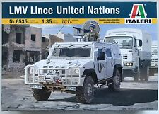 Italeri 6535 LMV Lince unie des Nations Unies (ONU) 1/35 Collectible NIB