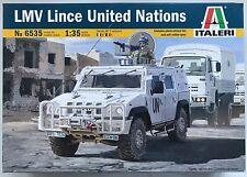 Italeri 6535 LMV Lince United Nations (UN) 1/35 Model Kit NIB