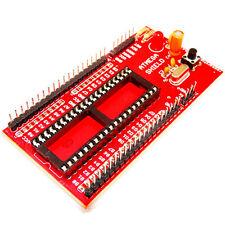 ATMEGA Mini Project Board for Atmega External TX,RX, GND Quartz crystall 16Mhz