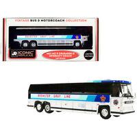 1980 MCI MC-9 Crusader II Intercity Coach Bus Brewster Gray Line (Canada) Whi...