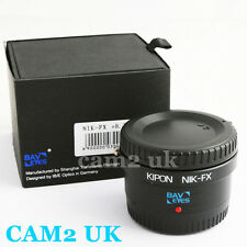 Kipon Baveyes 0.7x Focal Reducer Adapter for Nikon F Lens to Fujifilm Fuji FX X