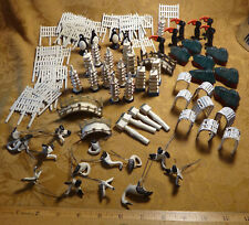 Large Lot Of Vintage Heavy Metal Figures Unknown Maker - Free S&H USA