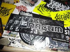 Nasum Strip Import Patch Grindcore Rotten Sound Amebix