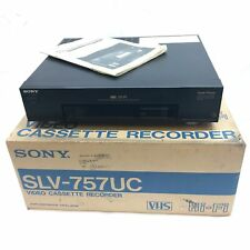 FOR REPAIR Sony SLV-757UC Video Cassette Recorder VCR