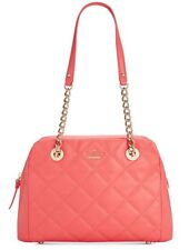 New Kate Spade New York Emerson Place Dewy Bag quilted leather Guava PXRU6996