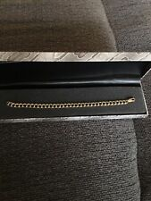 """14/20k Yellow Gold Filled 8"""" Chain Link Bracelet"""