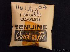 Vintage Universal Geneve Cal. 64 Balance Complete Part # 721/1