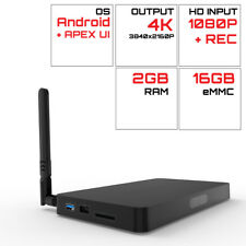 PROBOX2 AVA Android 6.0 TV Box Realtek RTD1295 Quad Core 2G/16G HDMI OUT/IN WiFi