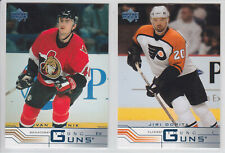 2001-02 UPPER DECK UD 1 & 2 YOUNG GUN ROOKIE RC 181-231 412-441 FINISH SET U PIC