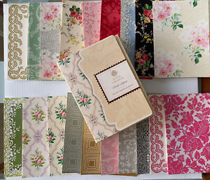 Anna Griffin LOVELY LAYERS 5 X 7 CARDSTOCK KIT 2018 AG412. NEW 114 Pieces