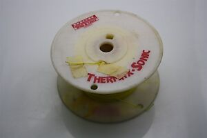 THERMAX 50 FT Silver-Plated Wire 26 AWG 600V M16878/6-BDA4 Yellow