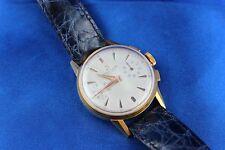 Breitling Vintage Chronograph Ref: 1198 Gold Top Manual Wind Men's Watch J3692