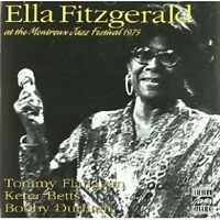 ELLA FITZGERALD - AT THE MONTREUX JAZZ FESTIVAL 1975  CD NEU