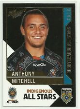 2012 NRL SELECT DYNASTY ANTHONY MITCHELL INDIGENOUS ALL STARS AS18 CARD