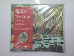 ROYAL MINT UK 2016 £2 GREAT FIRE OF LONDON 350TH ANNIVERSARY WORLD COIN 🌈⭐🌈