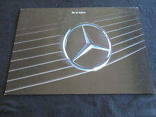 1990 Mercedes SL-class EDITION German Liska Warhol Brochure 300 500 R129 Catalog